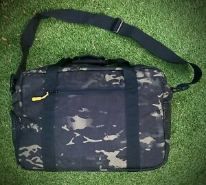 DSPTCH Gym Work Bag – Black Camo