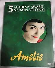 Amelie (Dvd, 2002, 2-Disc Set, Special Edition)-With slip-cover