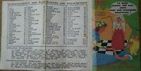 """Ancien Calendrier de poche publicitaire """"Mutuelle du Mans"""" Illustré -1971"""