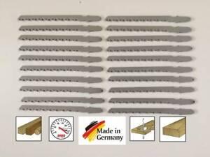 20 Stichsägeblätter T-Schaft Bosch Aufnahme für Holz Kurvenschnitte