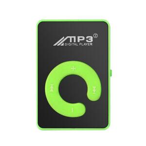 Mirror C key No Screen MP3 Music Media Player Mini USB Card Walkman-