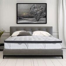 Gel Memory Foam Mattress Queen Size Spring Hybrid Coil Mattresses Layers 14 Inch