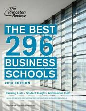 The Best 296 Business Schools-ExLibrary
