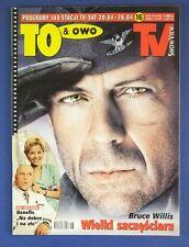 BRUCE WILLIS mag.FRONT  cover 16/2002 Arnold Schwarzenegger,Marianne Faithfull