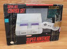Genuine Nintendo Super NES Control Set Entertainment System Box ONLY **READ**