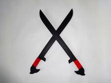 Espada Practice Sword Black Ops Philippines Knives Pair Escrima Sword Moro red