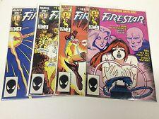 FIRESTAR #1-4 (MARVEL/SPIDERMANS AMAZING FRIENDS/1st SOLO/0916173) FUlL SET OF 4