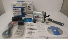 JVC GR-D395U Mini DV SD Camcorder w/32x Optical Zoom Digital Video Camera 800x