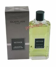 VETIVER 6.7/6.8 OZ EDT SPRAY FOR MEN BY GUERLAIN & NEW IN A BOX