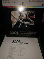 Stanley Kubrick 2001 : A SPACE ODYSSEY  movie Laser Disc LD