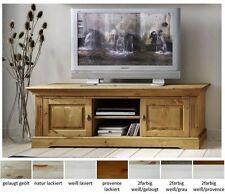 TV - & HiFi-Tische im Landhaus-Stil aus Massivholz