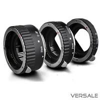AF Makro Zwischenringe für Canon EOS Kamera EF EF-S Objektiv Adapter Macro Ringe