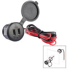 Poly-Planar USB-PM Panel Mount USB Charge Port - 12V