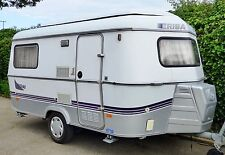 Eriba 2 Sleeping Capacity Mobile & Touring Caravans