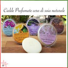 Diffusore Candle bruciatore cera di soia naturale Heart & Home Cialde profumate