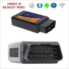 Auto wifi voiture de diagnostic scanner OBD2 ii ELM327 support ios et android pour voiture