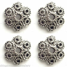 Antiqued Metal Silver Jewellery Making Beads