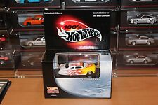 Hot Wheels 100% White w/ Flames Custom '50 Merc 2002 Hotwheels Newsletter New