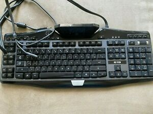 Logitech G19 Programmable Gaming Keyboard - USED Good Condition