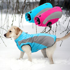Dog Coats for Large Dogs Winter Waterproof Warm Fleece Pet Clothes Jacket M-3XL