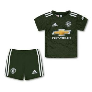ADIDAS Infants Manchester United 2020/2021 Baby Away Kit (3M-18M) (Green)