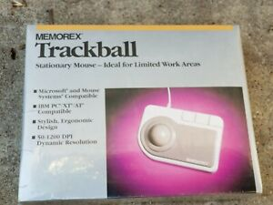 Memorex Trackball Stationary Mouse 3202-2313