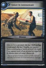 Star Trek TCG/CCG - 2nd Edition - Failure to Communicate #3S10