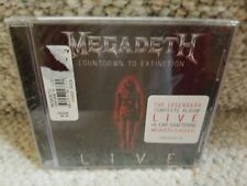 Megadeth - Countdown to Extinction: Live CD! NEW!!