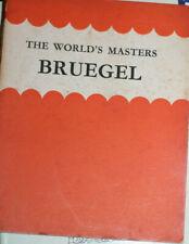 Bruegel - The World's Masters Series - 1950's - VG