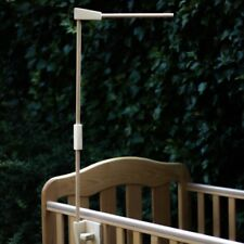 Baby cot attachment Wood mobile holder Crib wooden mobile hanger arm Handmade