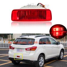 For Mitsubishi ASX RVR 2010-2016 Rear Reflector Bumper Tail Light Fog Lamp Brake