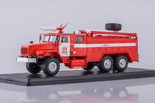 AC-7,5 russian fire truck on Ural 4320 Ivanovo SSM1229 1:43 Start Scale Models