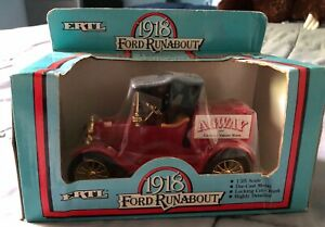 ERTL 1918 Ford Runabout - Agway Your Country Values Store - 1986