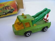 Matchbox Lesney Superfast Number 74 Toe Joe. Made in England 1972.