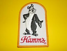 VINTAGE HAMM`S BEER BEAR EMBROIDERED PATCH