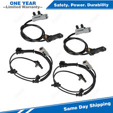 4PCS ABS Wheel Speed Sensor Front & Rear For 06-10 Jeep Grand Cherokee Commander
