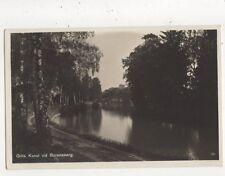 Gota Kanal Vid Borensberg Sweden Vintage RP Postcard 787a
