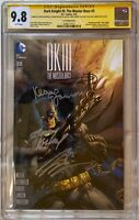 Dark Knight III DKIII #3 Jim Lee CGC SS 9.8 Signed Frank Miller Kubert Azzarello