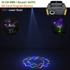 Mini RGB SD Animation Laser Light DMX Projector Show DJ Party Stage Lighting