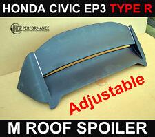 HONDA CIVIC 00-05 EP3 MU TYPE 3DR ROOF SPOILER - TYPE R   NEW METAL BRACKETS !!