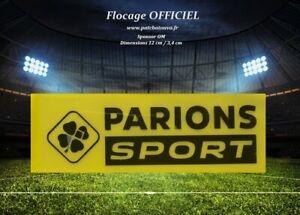 France sponsor officiel monblason maillot OM Parions Sport GF noir Ligue 1 20/21