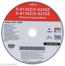 Fujitsu fi-6140z fi-6240z fi-6130z fi-6230z Driver APP Software DVD Setup Disk