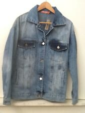 Forever 21 Women's Thirty 6 Point 5 Denim Jean Jacket New NWT S Small