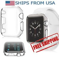 38mm 42mm Apple Watch Series 2 Clear Ultra Thin Hard Protective Case Cover *LOT