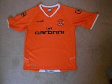 BLACKPOOL FC Short Sleeve Home Shirt 2009-2010 Size Large (Tony & 50 on back)