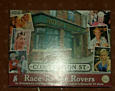Coronation Street Race to the Rovers Board Game Anniversary Edition Complete