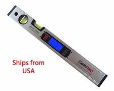 """16"""" Digital Level Protractor Inclinometer w/ Magnetic Base Backlit GRLM"""