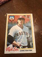 1978 Topps Carlton Fisk #270 Baseball Card