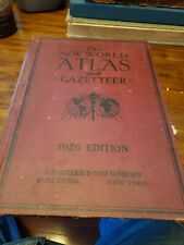 1926 Collier And Sons Atlas And Gazetteer