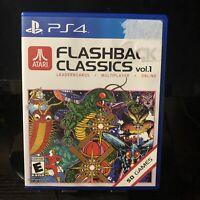 Sony PlayStation 4 PS4 | Atari Flashback Classics Vol 1 | Complete In Box CIB